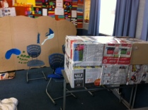 OM's English class's newspaper creation