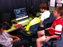 The News Crew editing